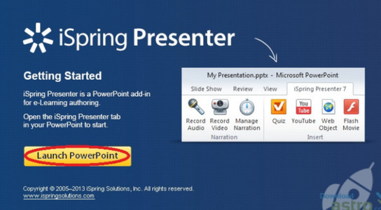 Phần mềm soạn giảng iSpring Presenter